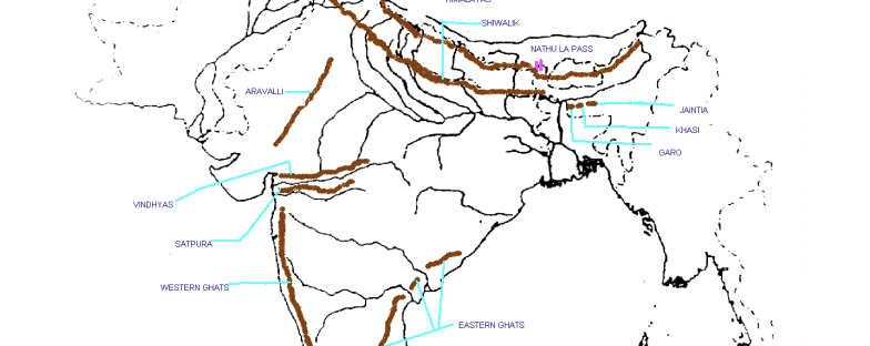 ICSE Geography: Solved Maps of India (Diagrams) – Helpline ...