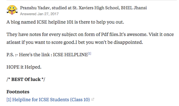 "Pranshu Yadav's answer to ""How can I get ICSE chemistry important equations notes?"" on Quora 