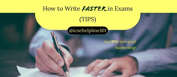 How to Write Faster in Exams (TIPS) | Photo by Helloquence on Unsplash | Helpline for ICSE Students (Class 10) @icsehelpline101